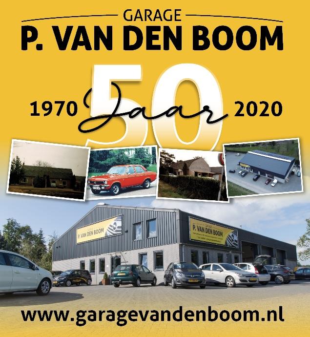 Garage P. van den Boom, 50 jaar jong!